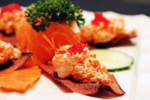 Spicy-Sunshine----tartar-of-scallop-and-shrimp----HOT!